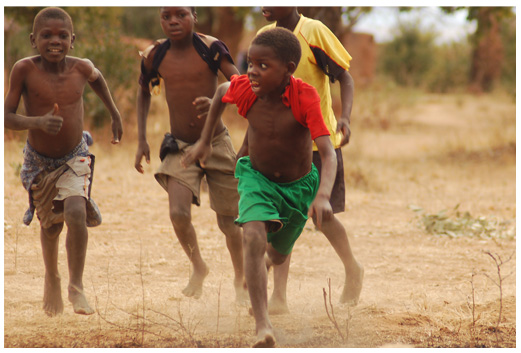 Image result for ghanaian kids playing football